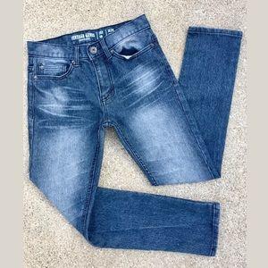 Vintage Genes 1891 Slim-Fit Straight Blue Jeans